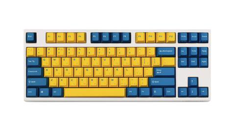 Leopold FC750R PD Yellow/White
