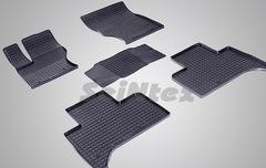"""Резиновые коврики """"Сетка"""" для Land Rover Range Rover Sport II (с 2013-н.в.)"""