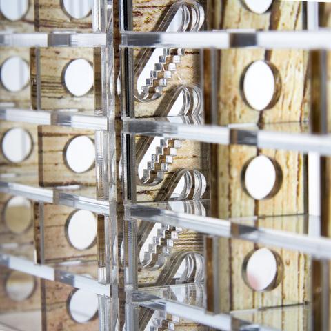 Декоративные вертикальные стенки - Древо