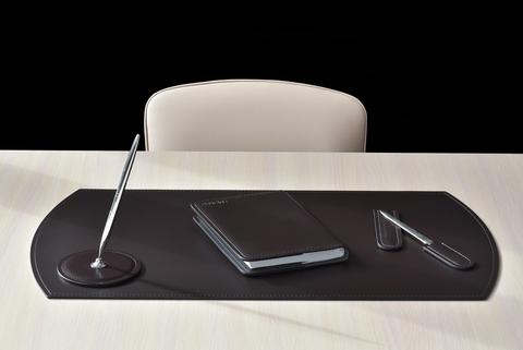 Бювар на стол, кожа натуральная Модель 1.