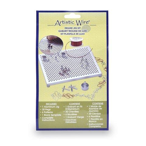 Набор Jig Kit Deluxe для создания узоров из проволоки Artistic Wire (США)