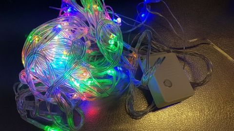 Светодиодная гирлянда нить домашняя 21м 309LED мульти