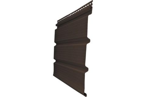 Софит Т4 Гранд Лайн коричневый с полной перфорацией 3х0,303 м