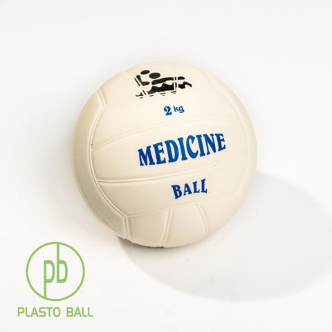 Медицинский мяч Plas-to Ball® весом 2 кг для тренировок ватерполистов