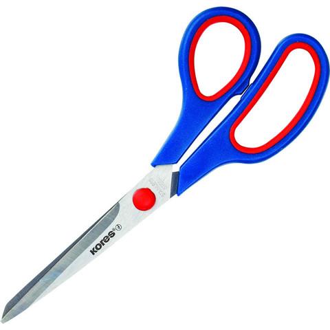 Ножницы Kores Softgrip 210 мм с пластиковыми прорезиненными анатомическими ручками