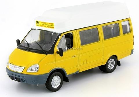 GAZ-322133 Gazelle Route Taxi Russia 1:43 DeAgostini Service Vehicle #51