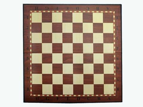 Доска картонная для игры в шахматы, шашки. Материал: картон. Размер 33х33 см. :(Q033):