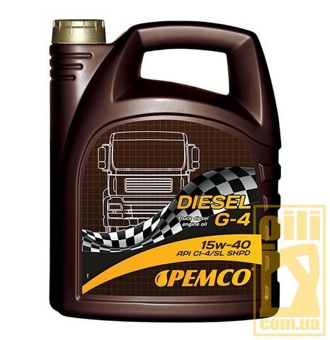 Pemco DIESEL G-4 SHPD 15W-40 5л