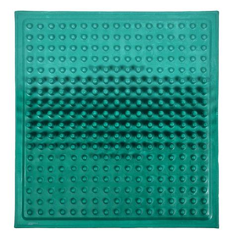 Коврик массажный прямоугольный 25,5х27,5 см