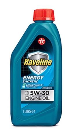 HAVOLINE ENERGY 5W-30 моторное масло TEXACO 1 литр