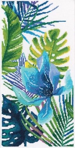 Голубой цветок №1