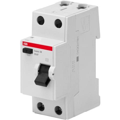 Дифф. выключатель тока УЗО 2-полюсный 25 А, тип AC (перемен.), 4,5 кА BMF43225. ABB. 2CSF602043R3250