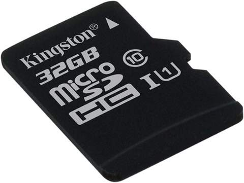 Карта памяти Kingston micro SD 32 Gb 80Mb/s