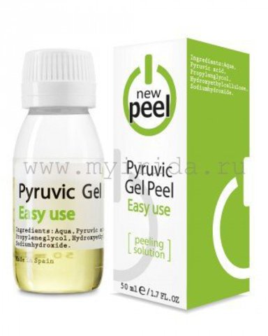 Пировиноградный пилинг Pyruvic Gel-Peel, 50 мл
