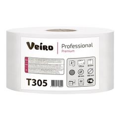 Бумага туалетная д/держ.Veiro Q2 Premium 2сл. 170м 12рул. T305