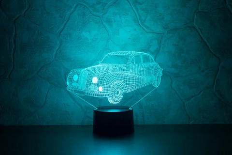 3D лампа BMW 501