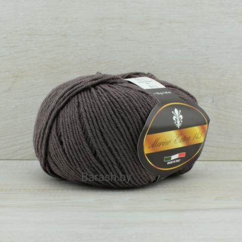 Пряжа Merino Extra 145 (Мерино экстра 145) Пепельно-коричневый