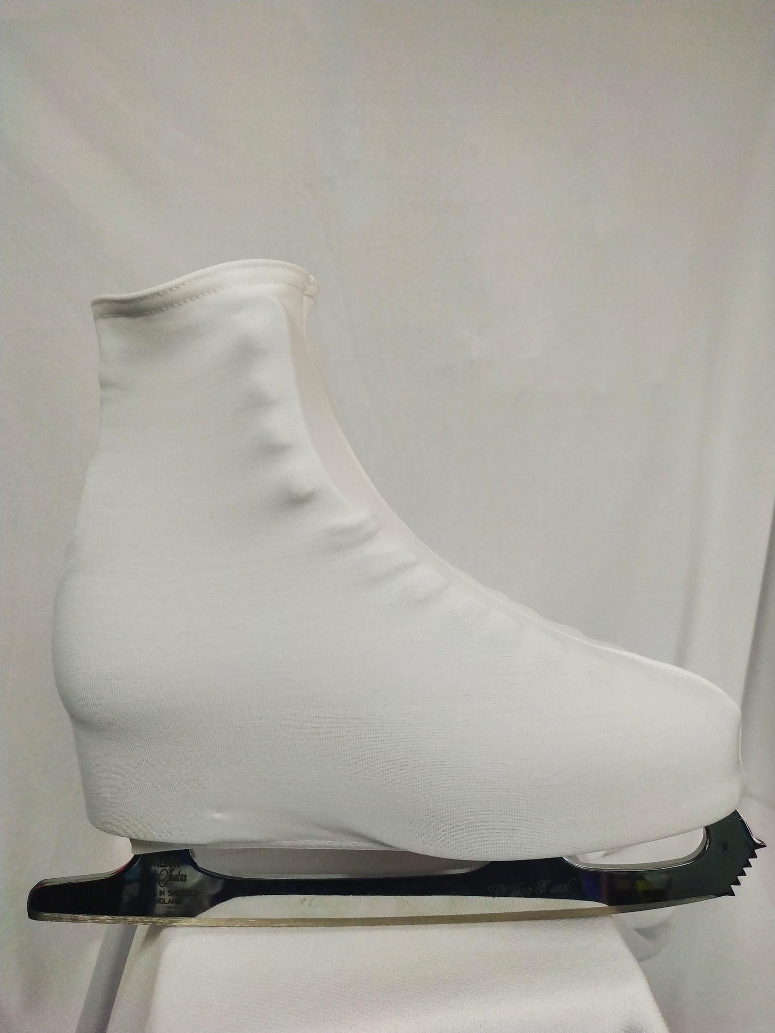 Чехлы на ботинки (белые)