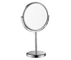 Косметическое зеркало WasserKRAFT K-1003 двухстороннее, с 3-х кратным увеличением