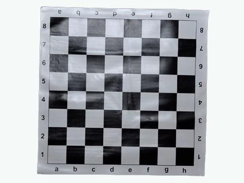 Доска для шахмат, виниловая. Рамзер 38х38 см. :(P-3838):