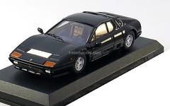 Ferrari 512 BB 1976 black Best 1:43