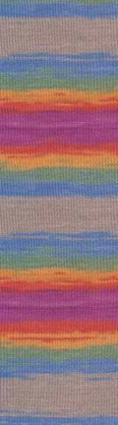 Alize Diva batik цвет 3242, пряжа, фото