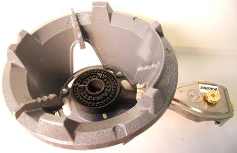Комплект 6. Горелка газовая Wolmex CGS30-R2 с композитным баллоном и редуктором