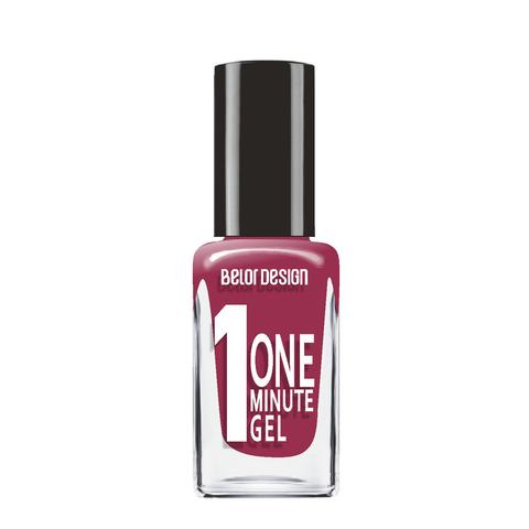 BelorDesign One Minute Gel Лак для ногтей тон 218 10мл
