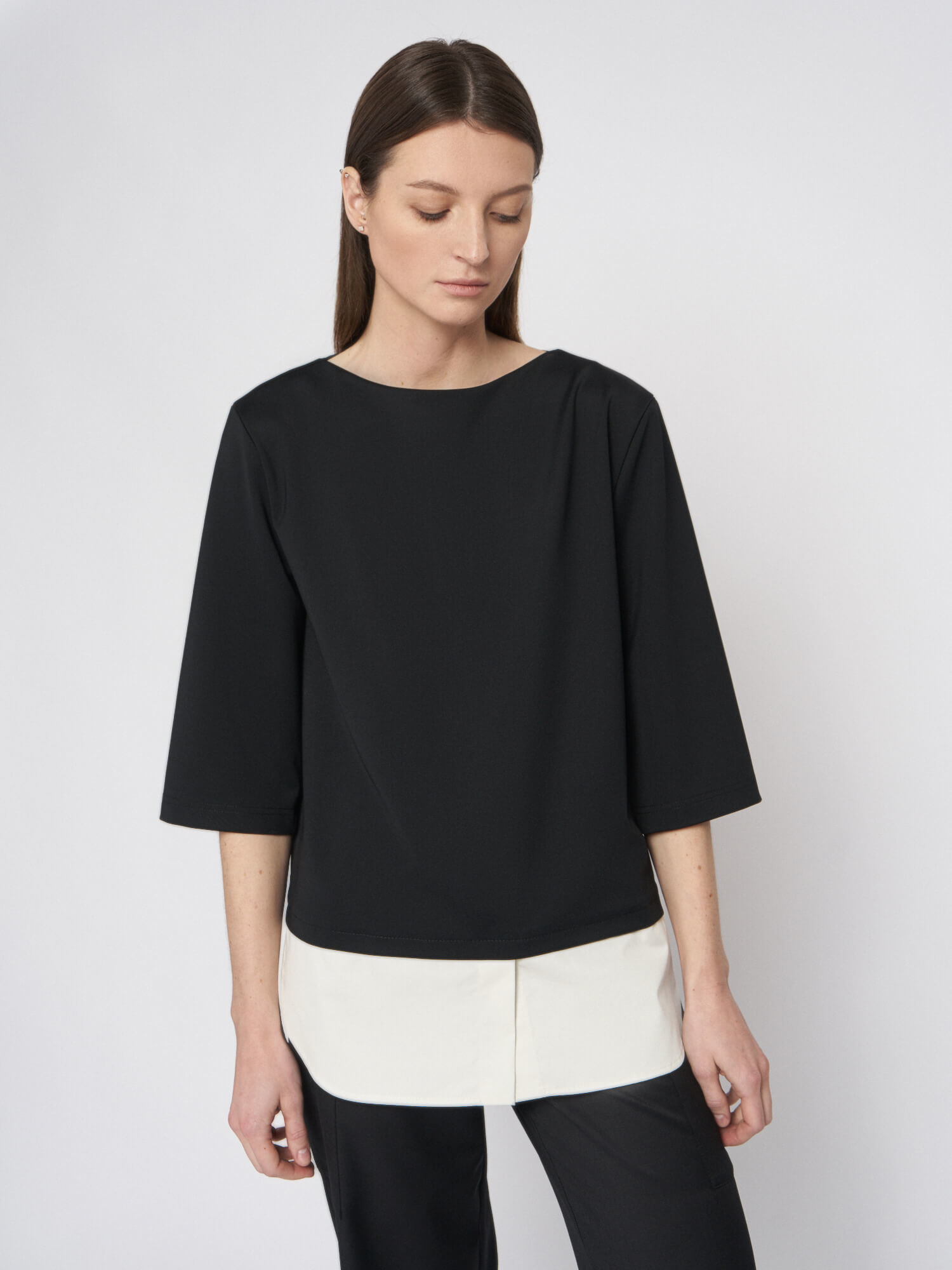 Блуза Paloma с имитацией рубашки