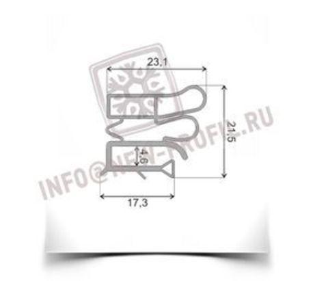 Уплотнитель 74*56 см для холодильника Снайге 117-3(холодильная камера) Профиль 012