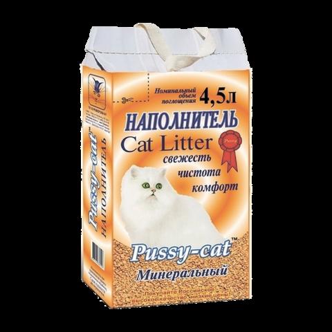 Pussy-Cat Наполнитель для туалета кошек минеральный