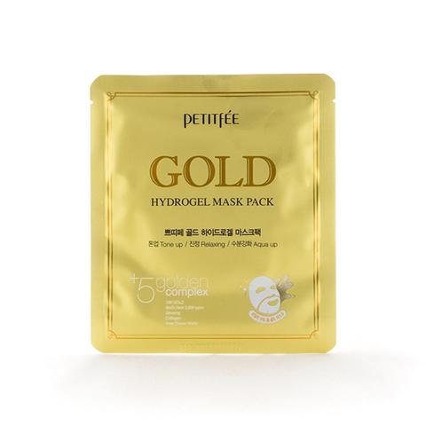 PETITFEE Маска для лица гидрогелевая с ЗОЛОТОМ HydroGel Gold Mask Pack