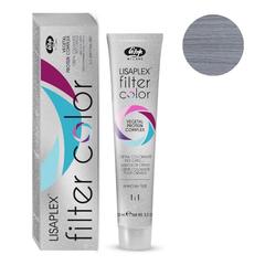 Оттенок пепельный металлик Крем-краситель для волос Lisaplex Filter Color 100мл