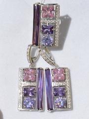 Авантаж(кольцо и  серьги из серебра)