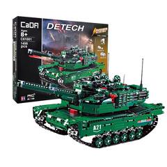 Конструктор серия Армия Радиоуправляемый Боевой танк США M1A2