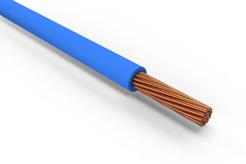 Провод ПуГВ (ПВ-3) 1х0,75 ГОСТ (1000м), синий TDM
