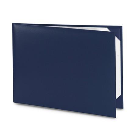 Обложка / корочка «Колор» для диплома или сертификата (синяя)