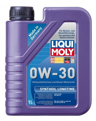 Liqui Moly Synthoil Longtime 0W-30 - синтетическое моторное масло