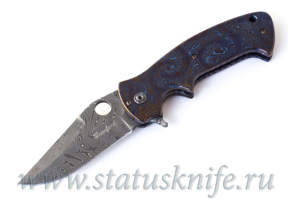 Нож Crawford Kasper Gentleman Full Dress Timascus