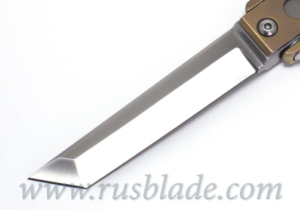 Stalker Tanto knife by Sajin knives
