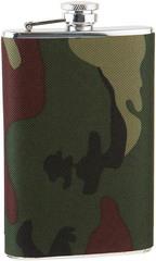 Итальянская фляга S.Quire «Камуфляж»,  270 мл, фото 4