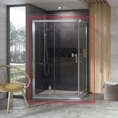 Душевой уголок с раздвижными дверями 120x90х190 см Ravak 10° 10AP4 0ZVG70100Z1 фото