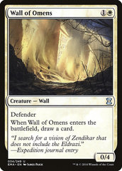 Wall of Omens (Фойл)
