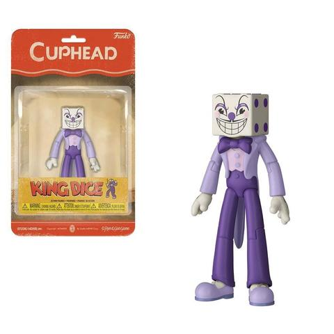 Cuphead Action Figures: King Dice