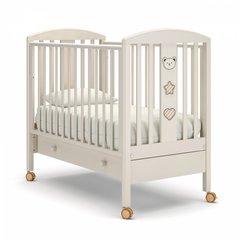 Кровать детская Дени люкс с ящиком ваниль