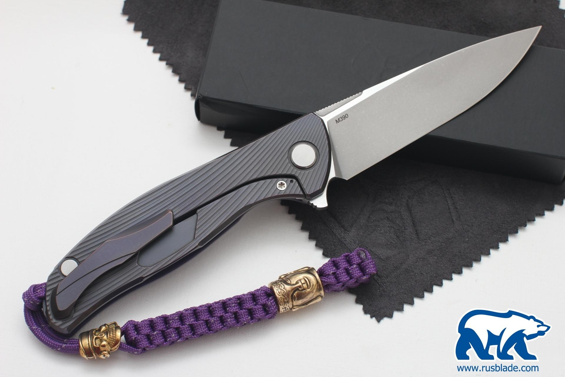 "Sword Knot ""Purple/Gold"""