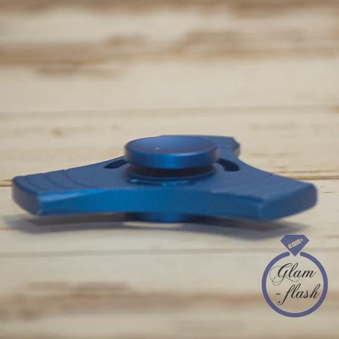 Спиннер металлический классической формы цвет голубой trngl_001_blue