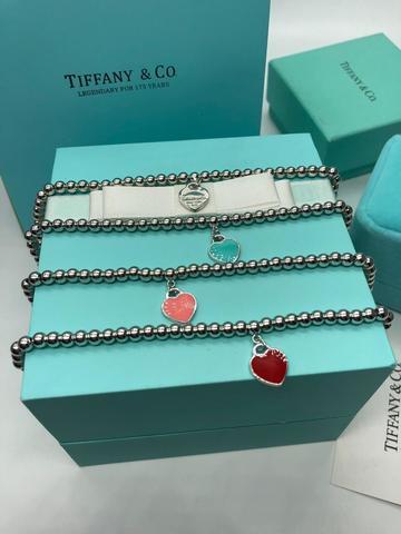 Браслет Tiffany&Co Heart Beard (серебро)
