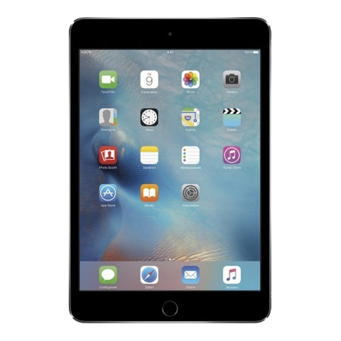 iPad mini 4 Wi-Fi + Cellular 32Gb Space Gray - Серый космос