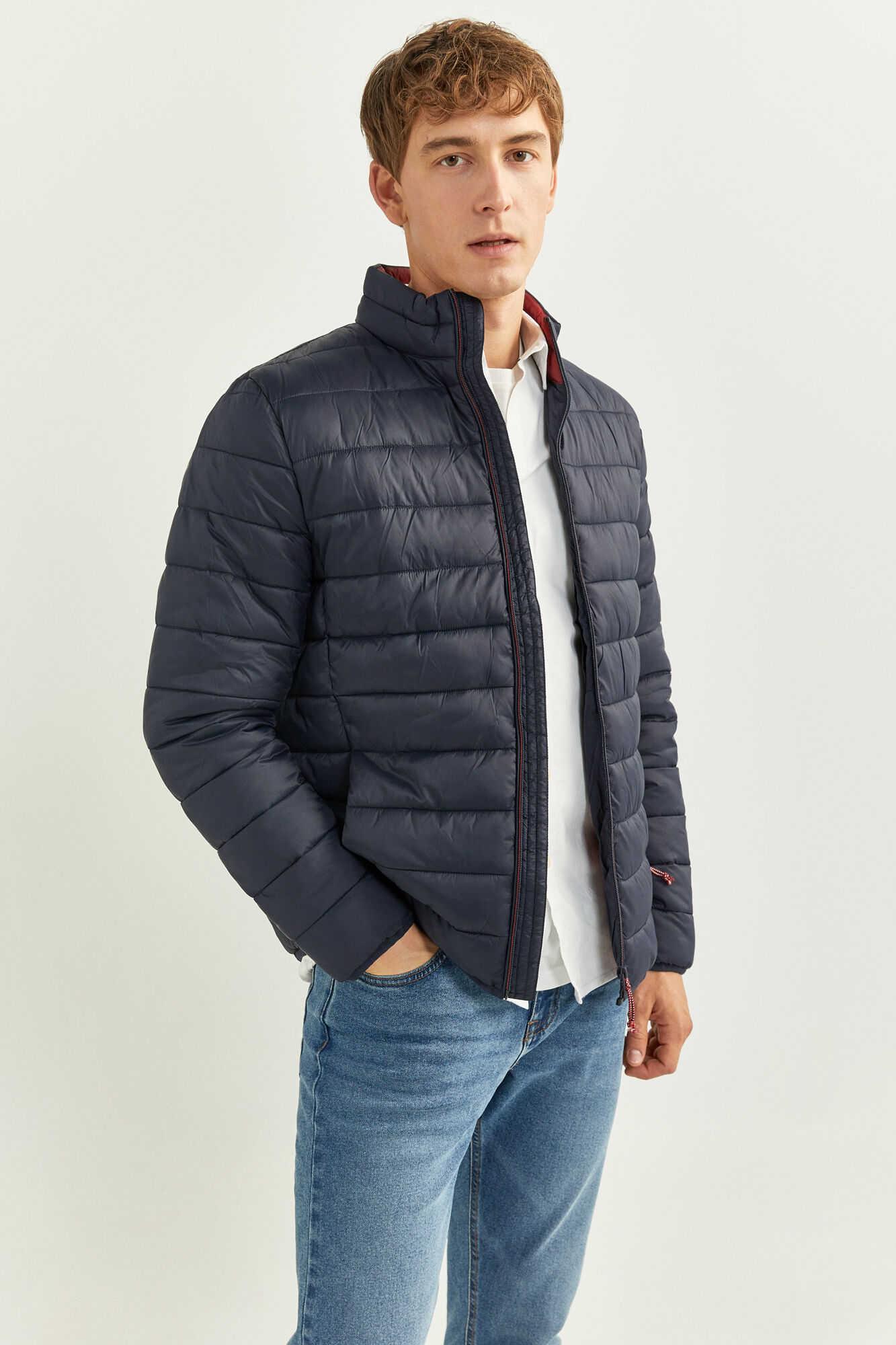 Стьобана куртка з утеплювачем